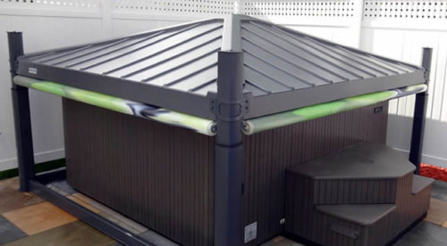 Automated Hot Tub Cover You