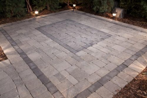 Barkman Stone Oasis Rectangular Patio