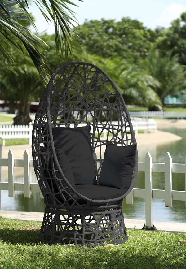 The Addison Nest Swivel Seatu0027s 360 Degree Rotation Feature Brings Style And  Originality All In One. This Beautiful Outdoor Chairu0027s Distinguishing And  Unique ...