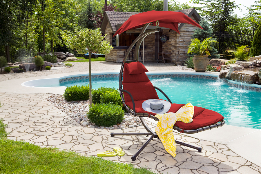 true to it u0027s name the dream chair hammock gives you the feeling of floating on a cloud right in the  fort of your own backyard  dream chair  u2013 crown spas  u0026 pools  rh   crownspas
