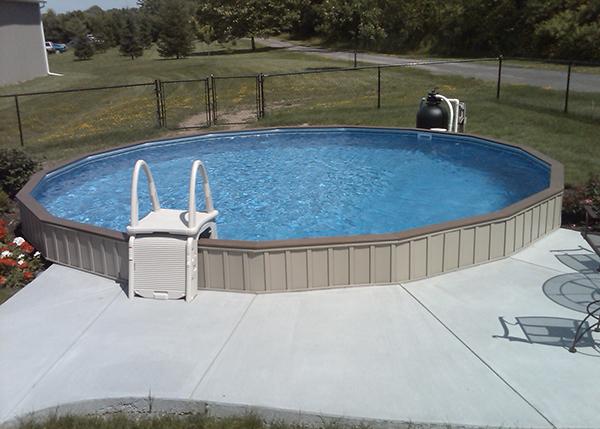 On Ground Swimming Pools Crown Spas Amp Pools Winnipeg
