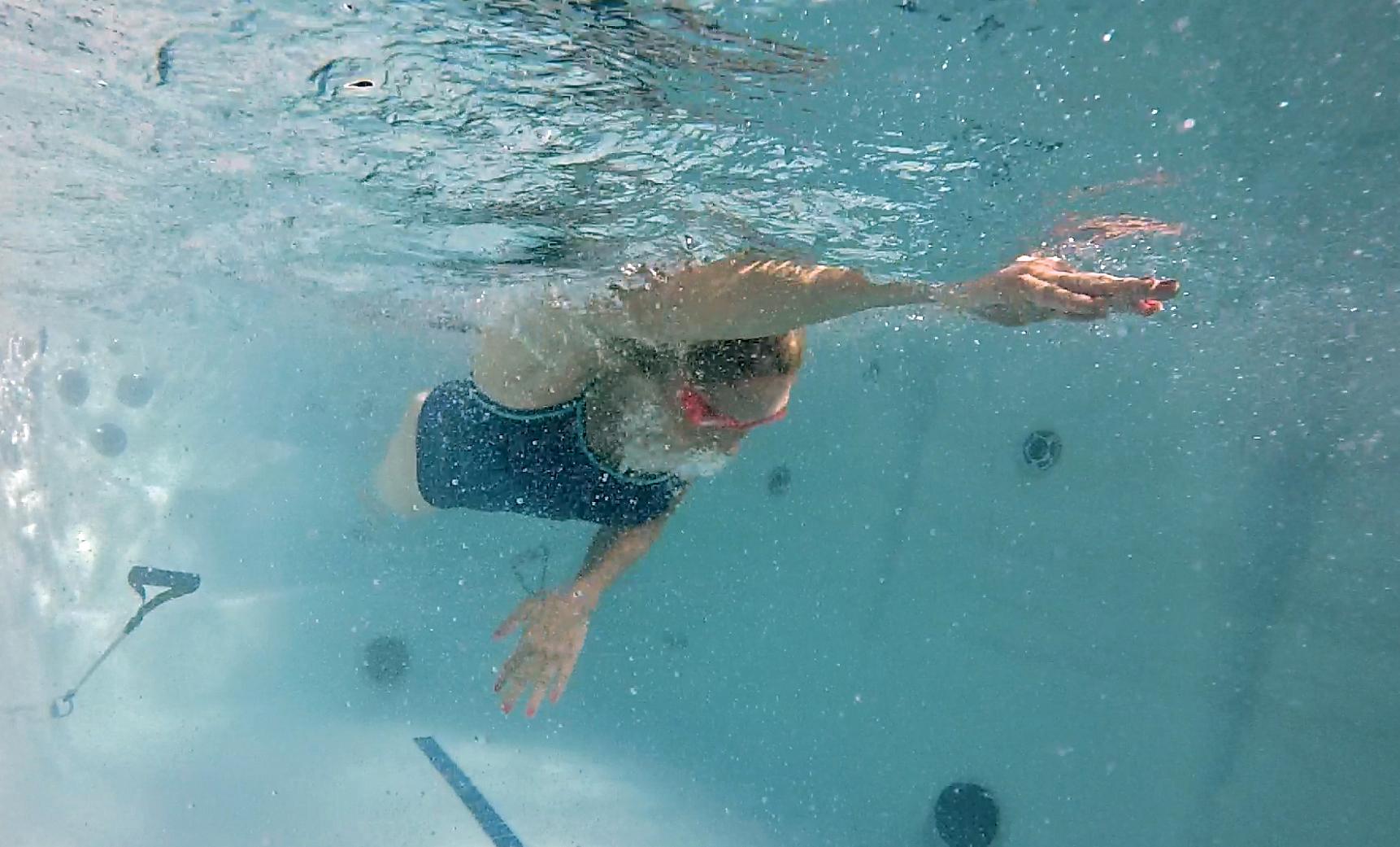 American Whirlpool Powerpool Swim Spa Crown Spas Pools Winnipeg